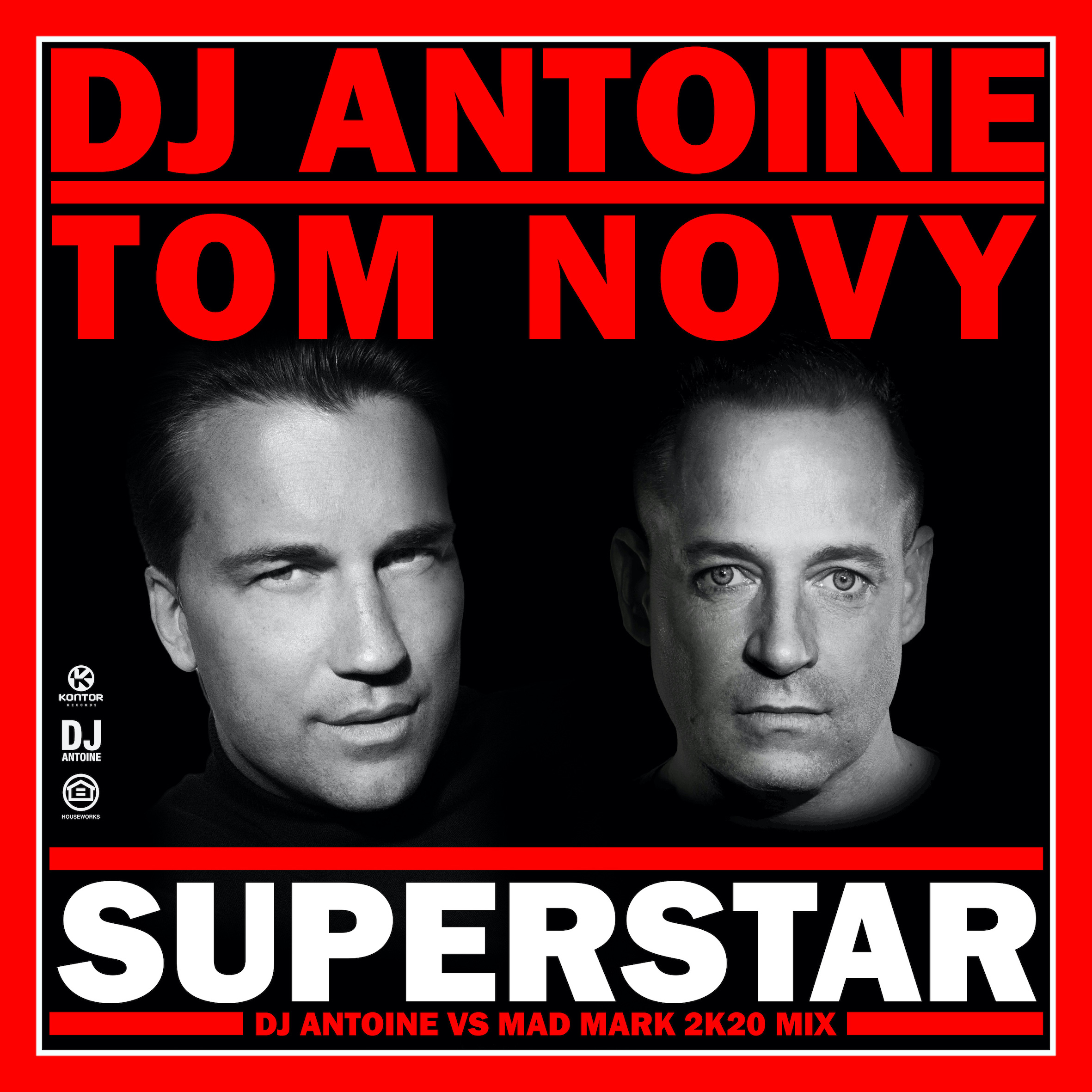 Cover DJ Antoine  Tom Novy   Superstar