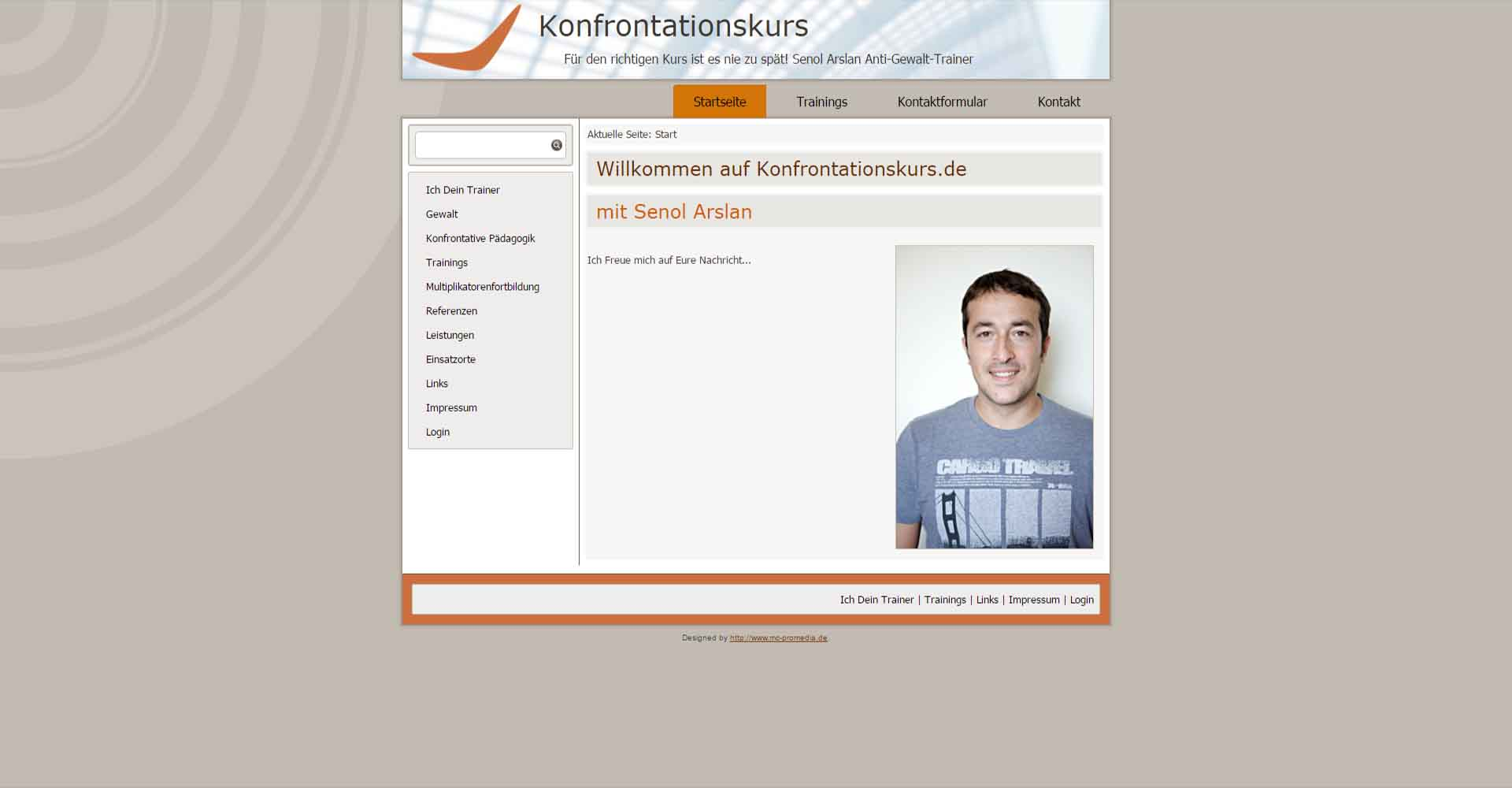 Konfrontationskurz